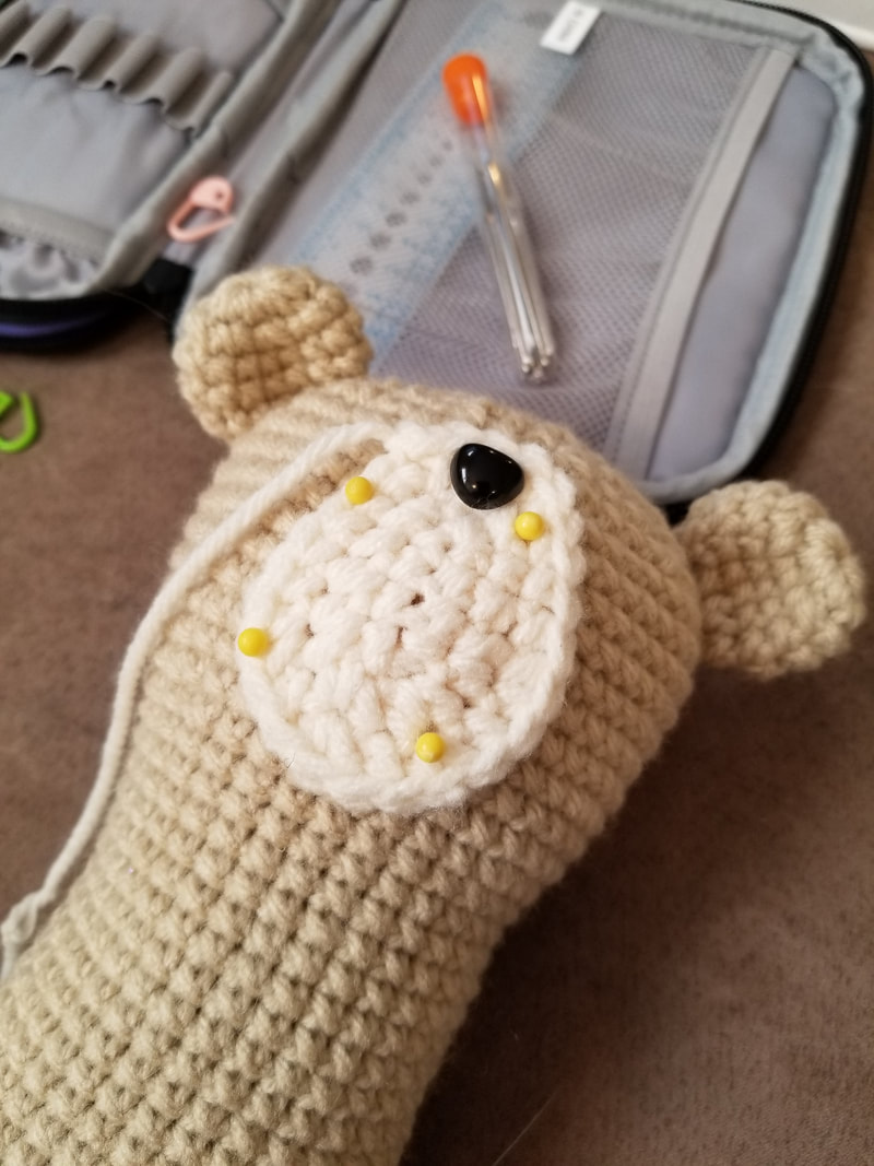 Hand Embroidery: a Personal Touch to Amigurumi | LillaBjörn's ... | 1067x800